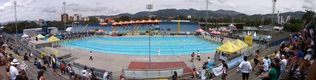 Complejo Acuático Atanasio Girardot. Medellin-COL