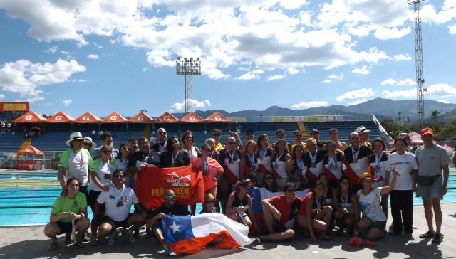 La Natación Master Chilena representada en el VI Panamericano de Medellin-COL